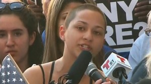 Emma Gonzalez after Florida high school shooting
